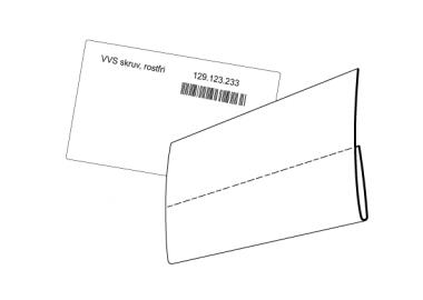 Etikettskydd för lagerlådor (ESE)