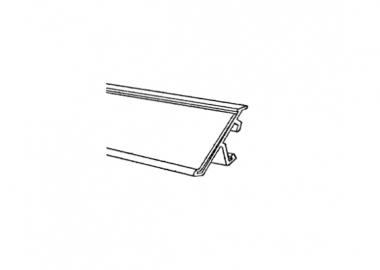 etiketthållare för pikval hyllor (MGW)
