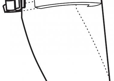 Docksta visiret, helvisir CE märkt
