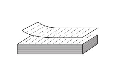 Etiketter på lösa ark (SEA)