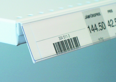 Angled label holder (SNO)