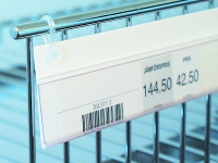 Label holder with hang clips (ALH)
