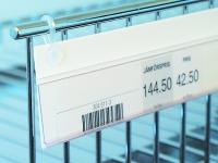 Etiketthållare med hängclips (HC)
