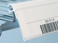 Etiketthållare för trådhylla / Trådkorg