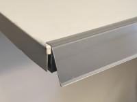 Label holder for ROLs metal shelves (RL)