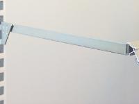 Förzinkad konsol för väggskenor