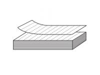 Perforerade etiketter på lösa ark (SEA) för etiketthållare 39mm