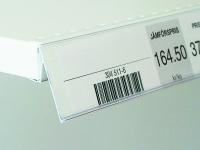Angled label holder (SHR)