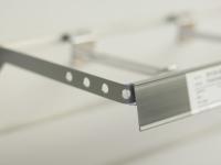 Metall konsol för spårpanel (SHVS)
